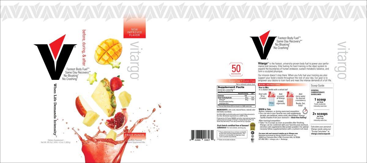 Fruit Punch Label