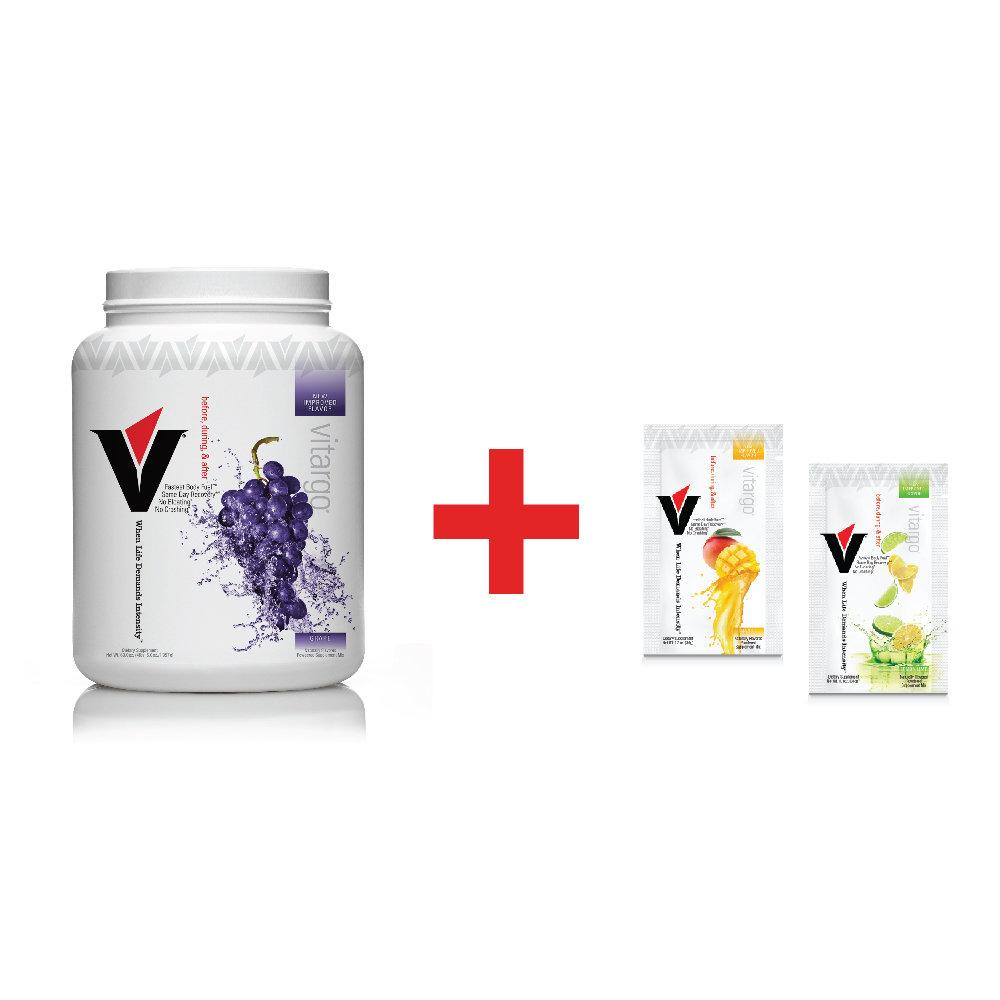 Vitargo Grape Plus 2 Single Serving Packets ($6.00 Value) 00020