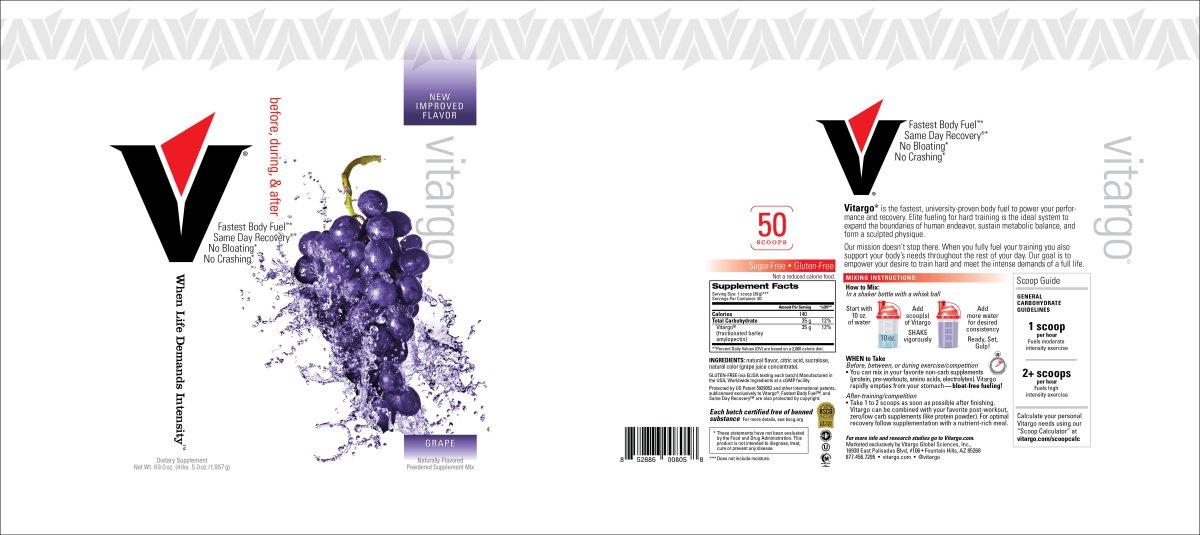 Grape Label 50 Scoop