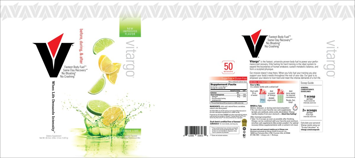 LemonLime Label 50 Scoop