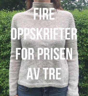 OPPSKRIFT -  OPPSKRIFTER PÅ THEAGENSER x 4