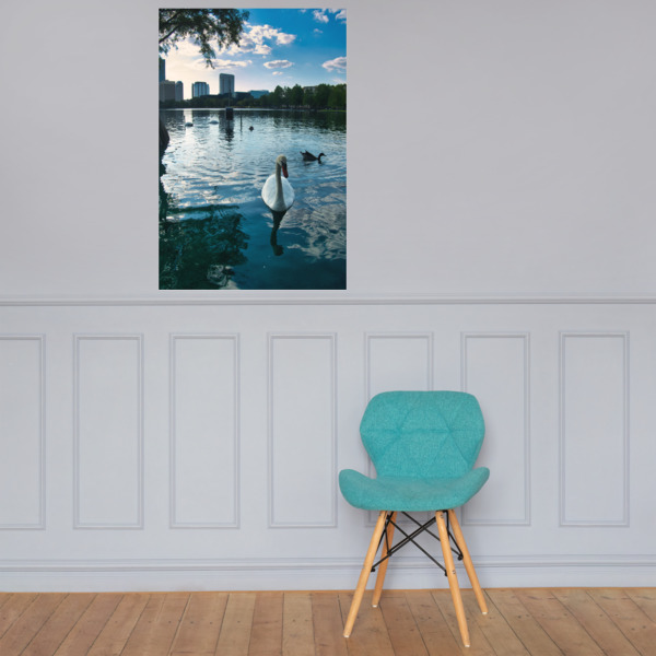 Lake Side Photo paper poster