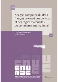 Analyse comparée du droit français réformé des contrats et des règles matérielles du droit du commerce international (EAN9782711026555)
