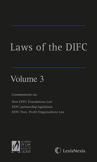 Laws of the DIFC - Volume 3 (ISBN9781474310635)