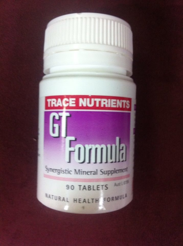 GT Formula (Chromium) - Interclinical 00068