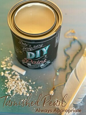 Tarnished Pearl NEW DIY Paint Color at Shizzle Design