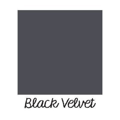 Black Velvet DIY Paint - almost black