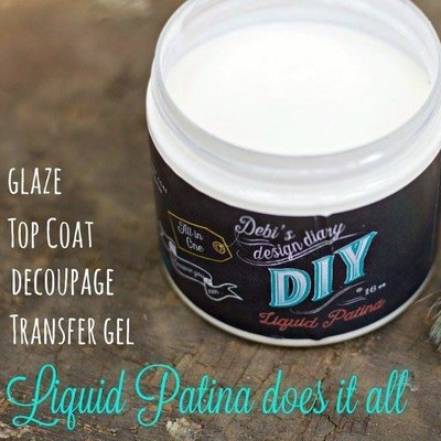 Crystal Clear Chandelier Liquid Patina by DIY