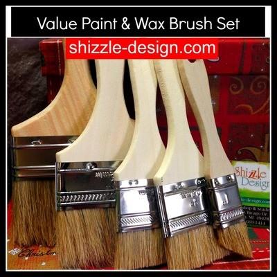 Paint & Wax Brush Starter Set - Great Value!