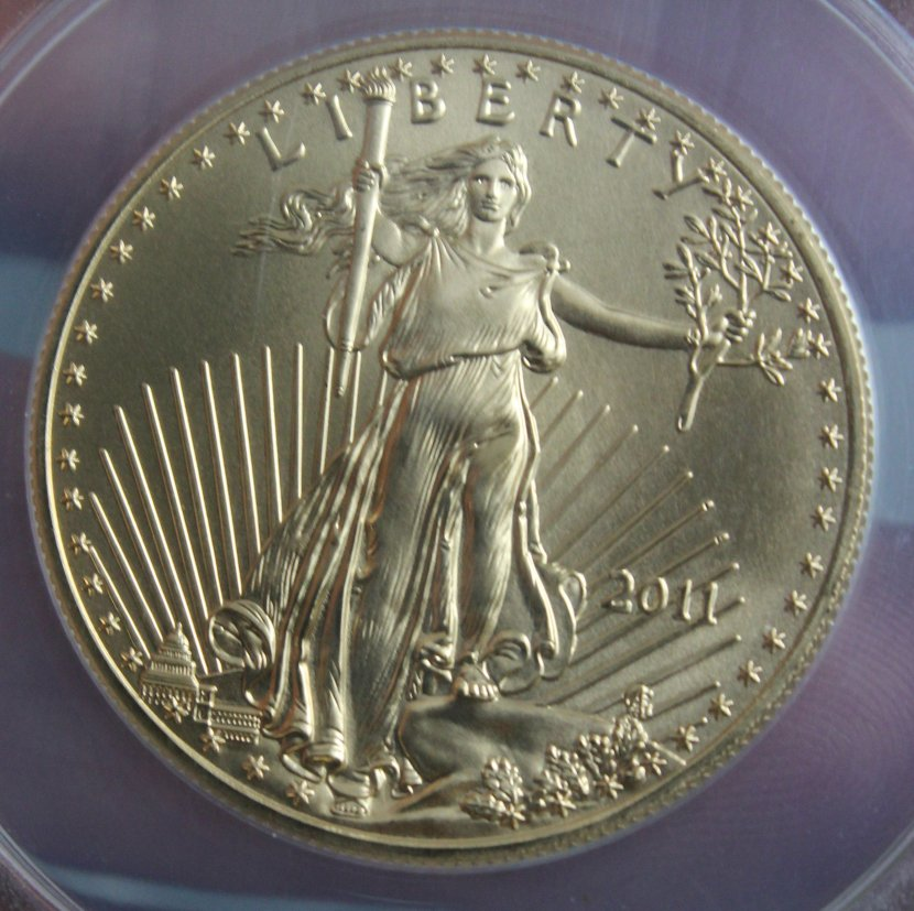 2011 Anacs Ms70 25th Anniversary Gold Eagle First Day