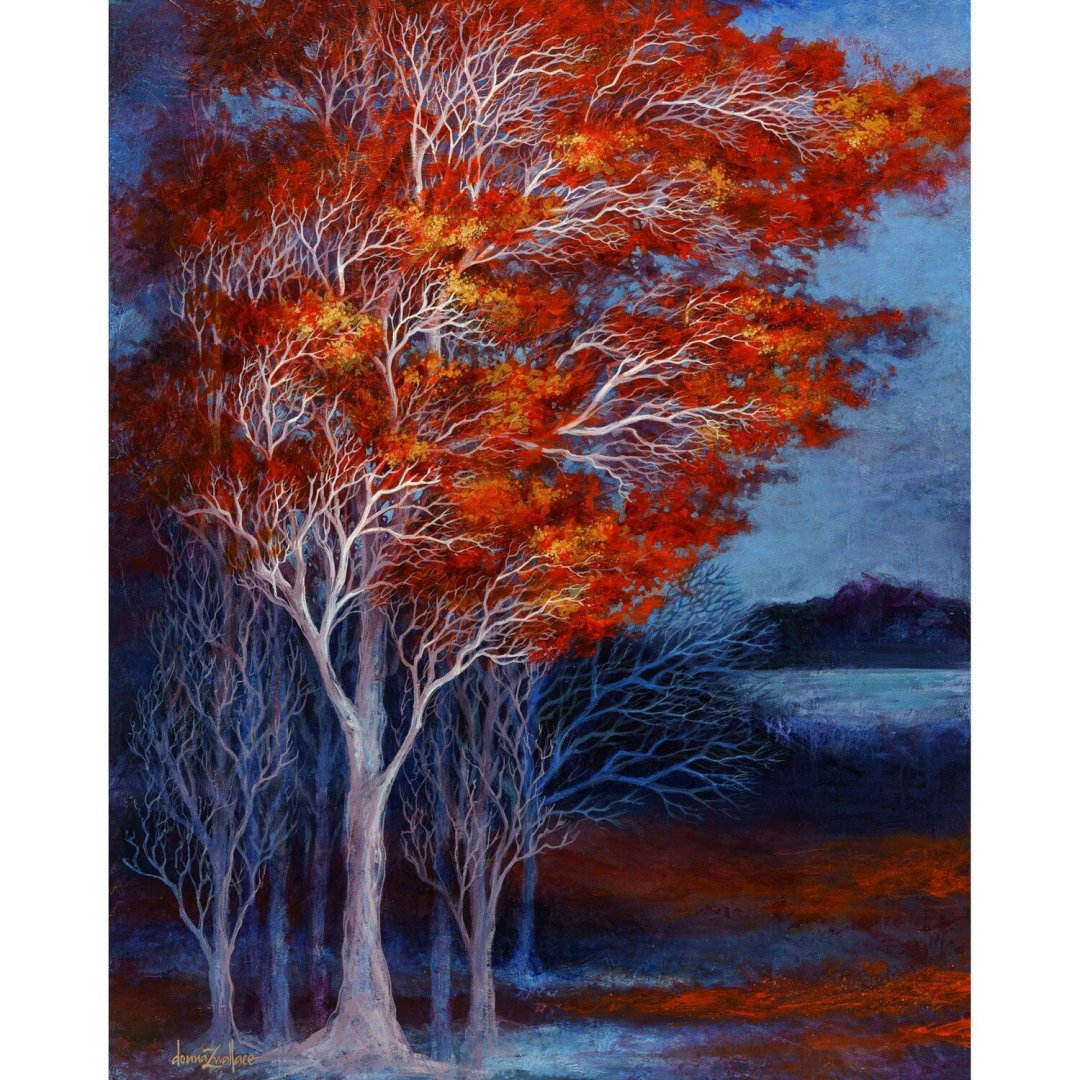 Donna Wallace -- Flames of Autumn