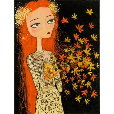 Aziza Saliev -- Autumn Sonata in Her Heart