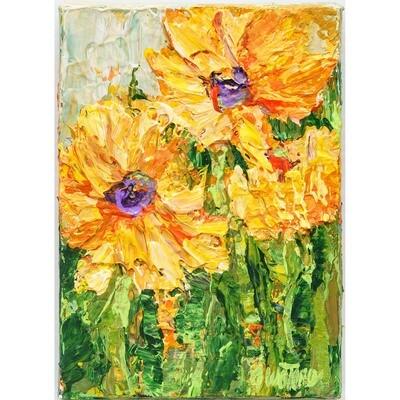 Anne Waters -- Sunflower Joy