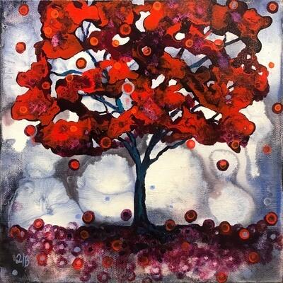Heidi Barnett -- Red tree