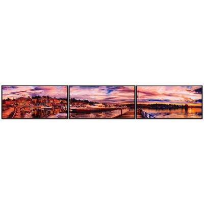 Lisa Marie Kostal -- Carillon Point Triptych - Kirkland, WA