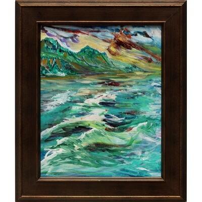 Forrest Goldade -- Sunset Kauai