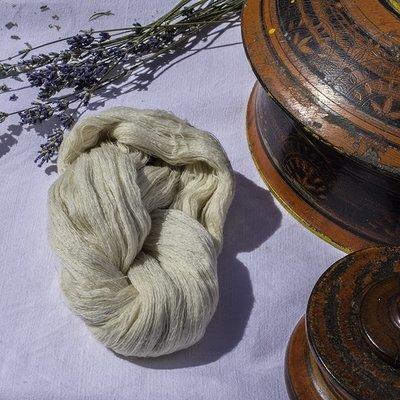 Cachemire - Fil extra-fin naturel - Écheveau 20g
