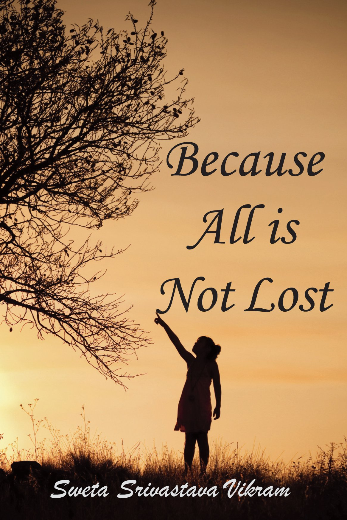Because all is not lost: Verse on Grief 978-1-61599-046-7
