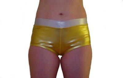 Liquid Gold Hipster Pole Short