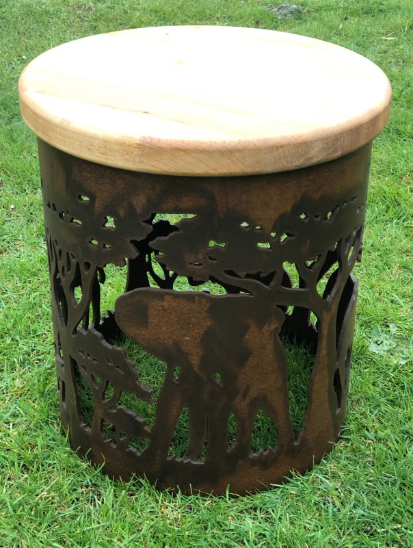 Carved Stool - Africa Design StoolAfricaOL