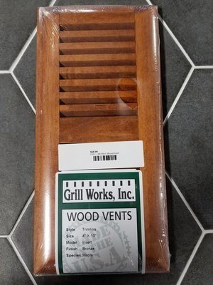 GRILL WORKS Wood Vent