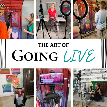 Art of Going LIVE with Tracey's Fancy