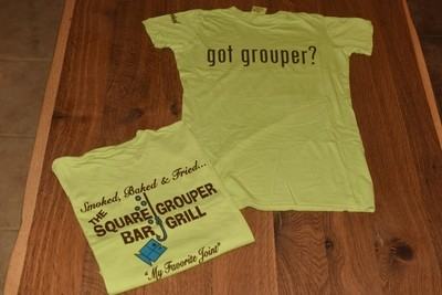 Ladies Got Grouper Short Sleeve Green