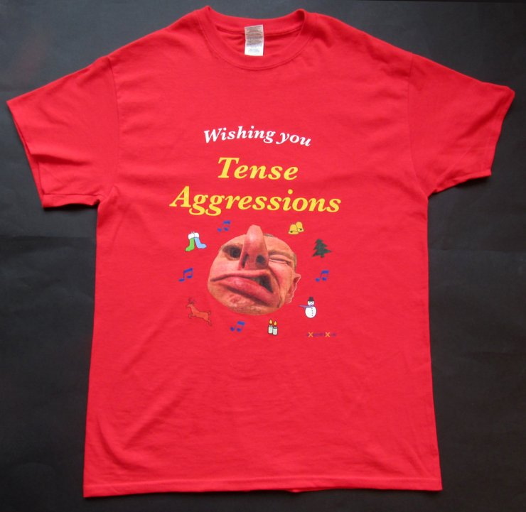 eXcentriX - Wishing You Tense Aggressions T-shirt