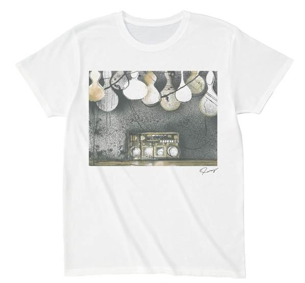 Takeo Hanazawa - 花澤武夫 -  Take me to the Mardi Gras  T-shirts 00082