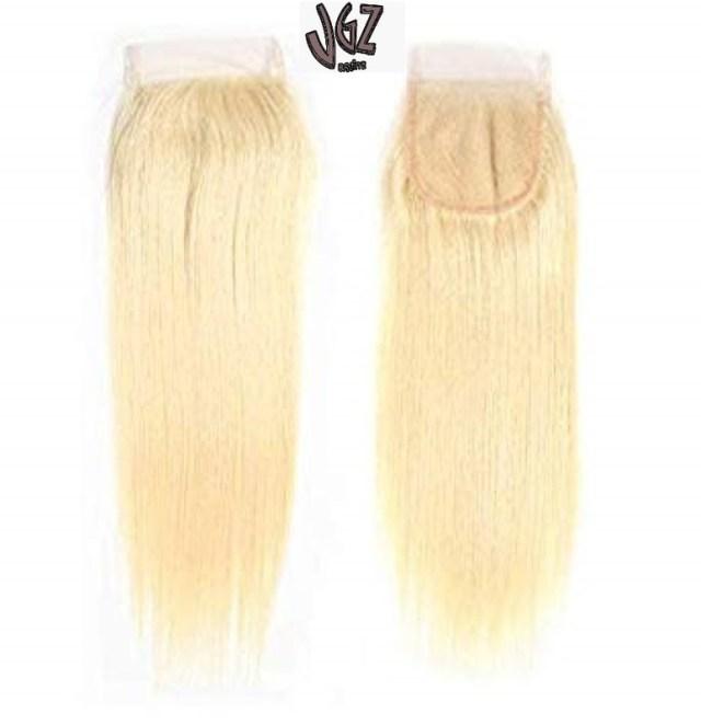 Brazilian Virgin Human Hair Lace Closure 4*4 Straight