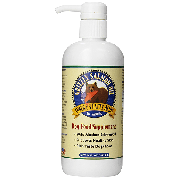 Wild Alaskan Salmon Oil - Grizzly Pet Products