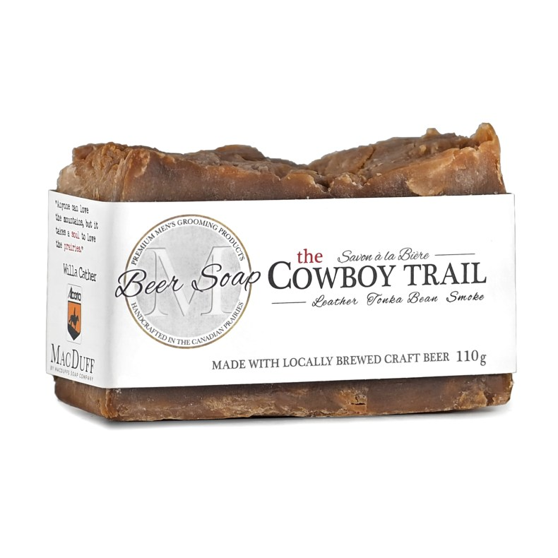 The Cowboy Trail Beer Soap MGP-COWBOYSOAP