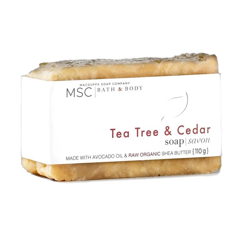 Tea Tree & Cedar Bar Soap SOAP-TEATREECEDAR