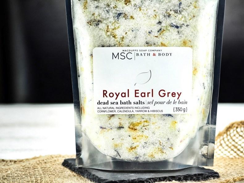 Royal Earl Grey Dead Sea Bath Salts