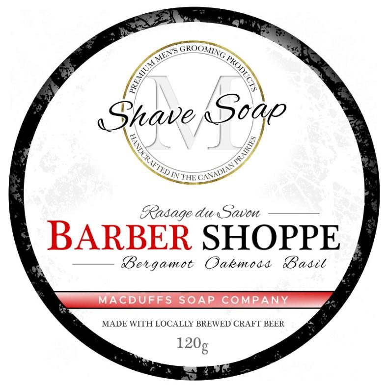 Barber Shoppe Shave Soap MGP-BARBERSHAVE