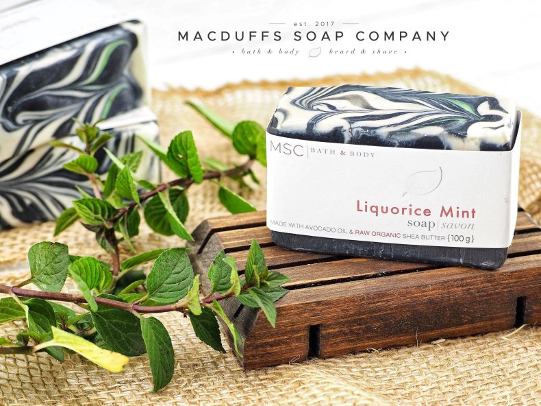 Liquorice Mint Soap Bar