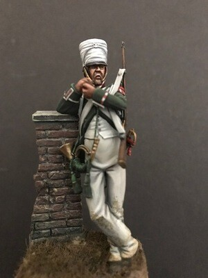 Hornist. Conscripts of the Royal Guard 1812