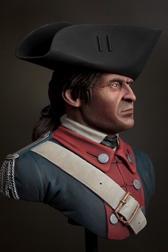 BU 11 Captain 1st Virginia Continental Line 1781 BU11