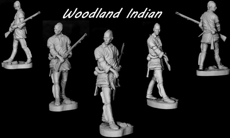 APG 19  Woodland Indian 75mm kit APG19