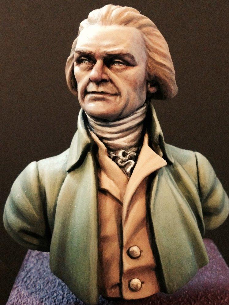 APG 18 Thomas Jefferson unpainted bust APG18