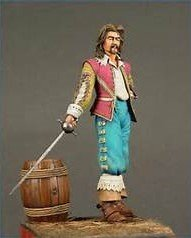 Musketeer painted by Marion Ball PF013