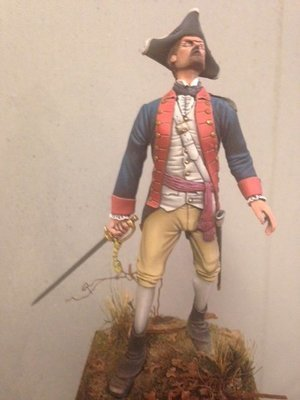 Officer of the 5th Virginia circa 1780