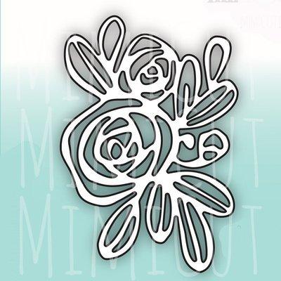 MIMICUT Metal Die Rose