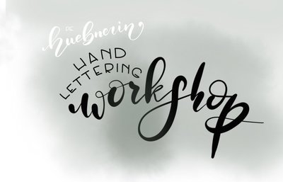 Handlettering Workshop Platzreservierung