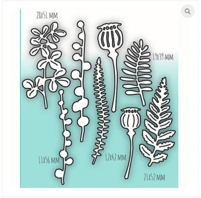 MIMICUT Metal Die Herbarium II