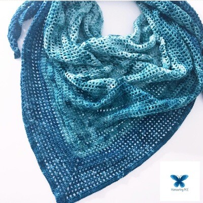 Winter Green Shawl