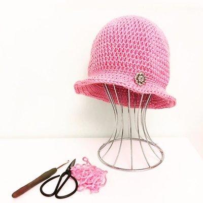 Antique Rose - Cloche Hat