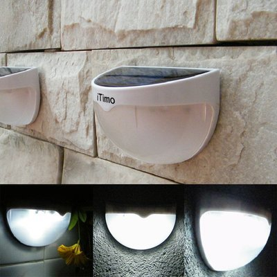 Solar Powered Wall Lamp (Waterproof)
