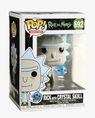 Funko Pop! Rick and Morty Rick with Crystal Skull Vinyl Figure