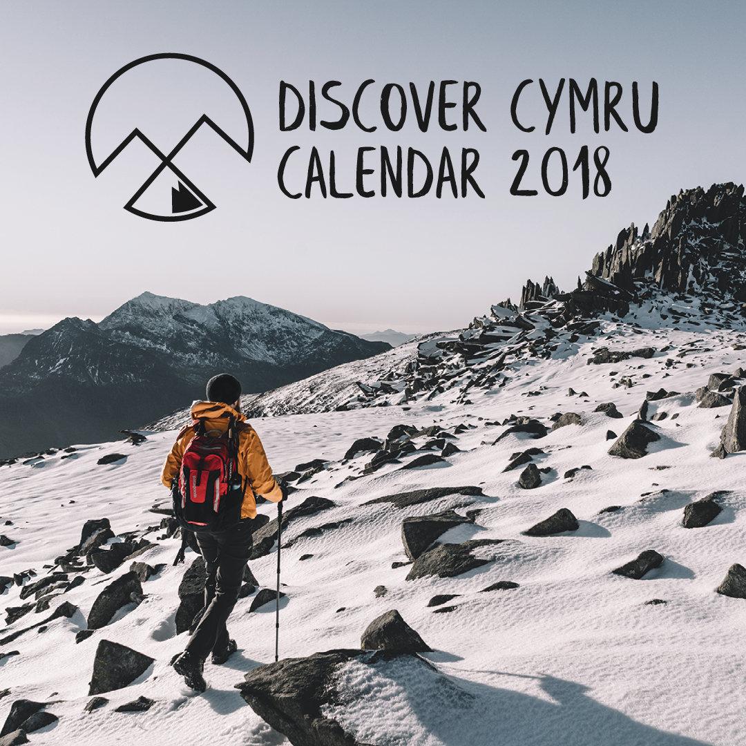 Discover Cymru Calendar 2018 00001